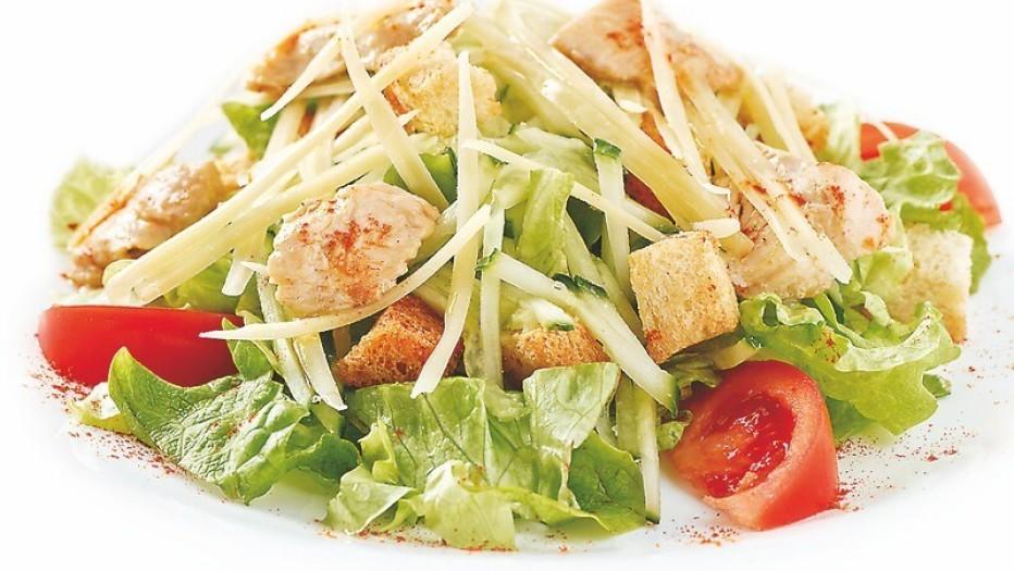 Рецепт классического салата Цезарь