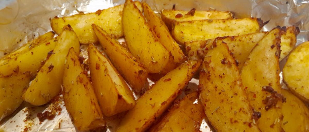 Картофель с размарином